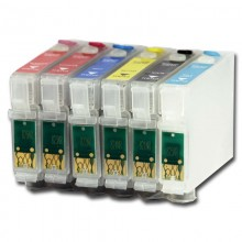 ПЗК для Epson R270/290/TX700/1410/T50 (T0821-T0826)